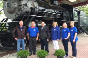 Realtors Supporting Friends of the 457 Cannonball Train