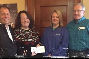 REALTOR® Foundation of Iowa Donates to Crisis Intervention Services of Mason City